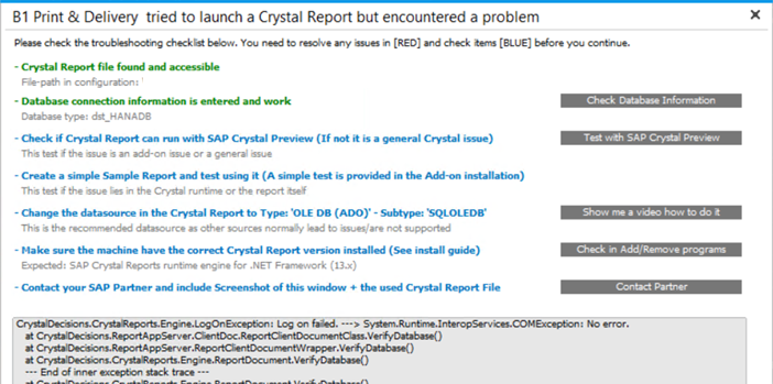 Step 2: Create Report using Crystal Reports
