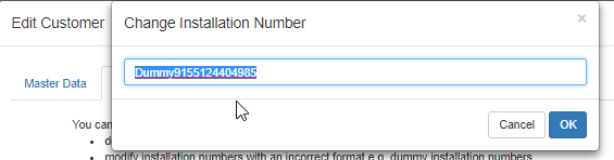 How to edit an installation number? – Boyum Helpcenter